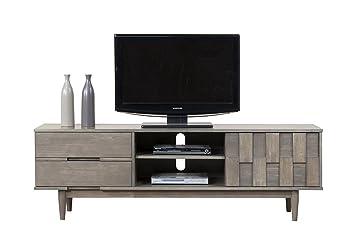 Amazon Com Modhaus Living Mid Century Danish Style Wood 70 Inch