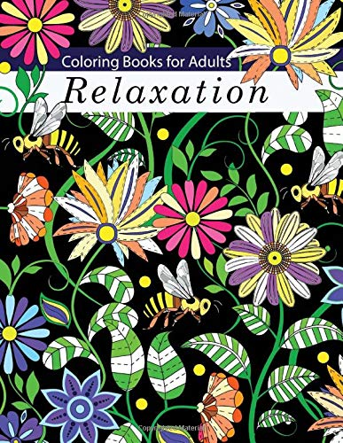 Image for Coloring Books for Adults Relaxation: Adult Coloring Books: Flowers, Animals and Garden Designs