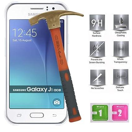 Todo Phone Store - Protector Pantalla Antigolpes Cristal Templado 9H para Samsung J1 Ace