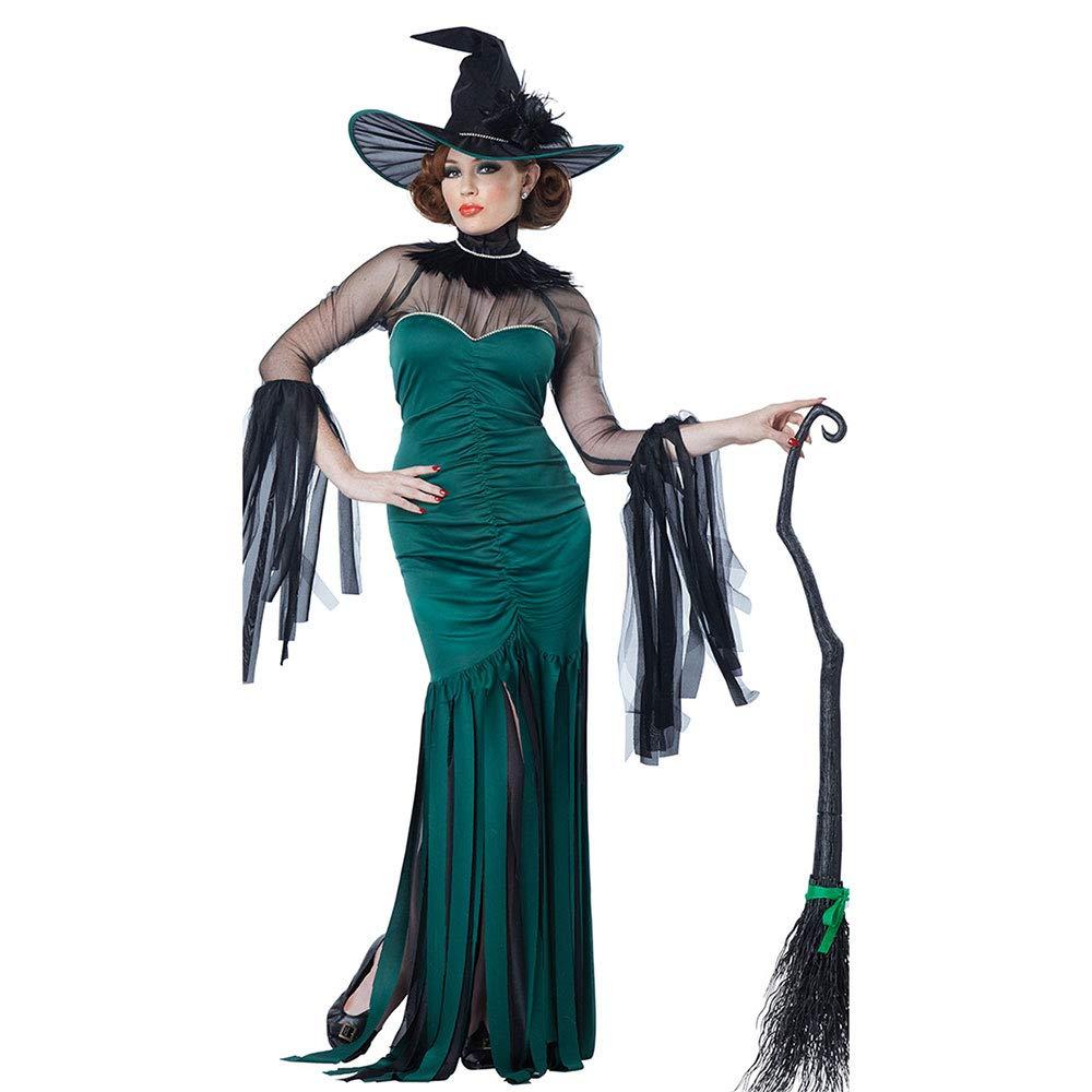 Edelehu Halloween Cosplay Kostüm Tunika Hooded Robe Kapuzenmantel Cape Medieval Kapuzen-Party-Ausrüstung Erwachsene