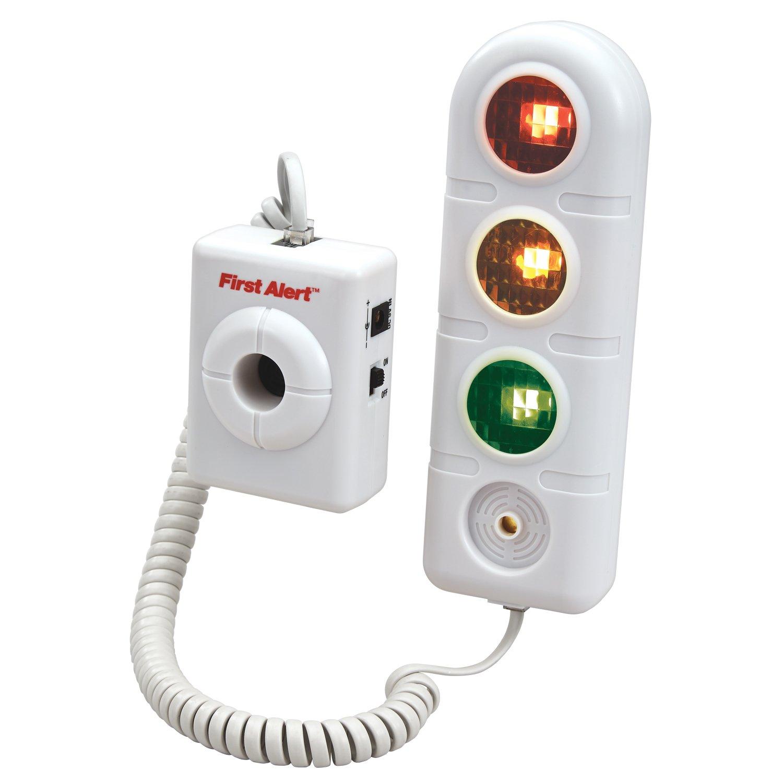 First Alert Parking Alert Sensor with AC Adaptor, White (SFA275)