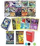 36 Pokemon Card 2 Booster Pack EX Starter Elite Trainer Kit Lot Free Deck Box Random Bonus & Playmat