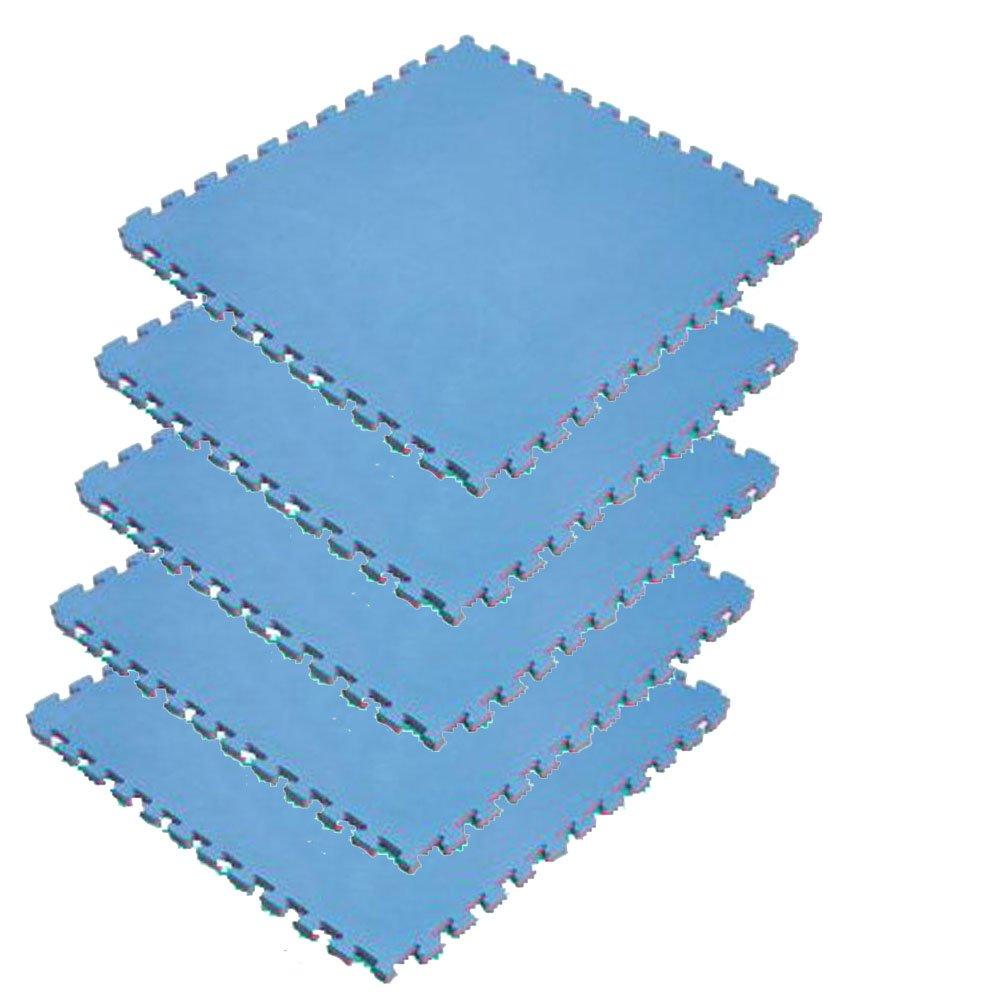 ボディメーカー(BODYMAKER) リバーシブルジョイントマット2.0 100×100×2cm レッド×ブルー 5枚 B0169YIK5M