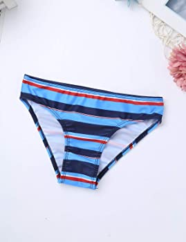 CHICTRY Traje Ropa De Baño para Niña 8-16 Años Bañador A Raya con Braguitas Vestido Falda de Baño Playa Bikini Niña Vacaciones De Verano