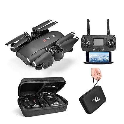 dron con cámara, 5 G Drone WiFi FPV Quadcopter con 1080p amplio ...