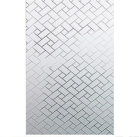 3D Bande 45x200cm Verre Autocollants D/écoratifs pour Fenetre Opaque Statique Sticker Prot/ége Intimit/é Anti-UV 17.7x78.7 EASEHOME Adh/ésif Film Electrostatique D/époli de Vitre Fen/être
