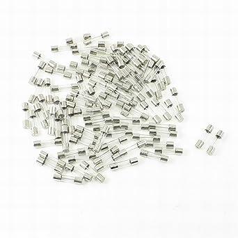 100 Pcs 250 Volts 4Amp Fast Blow Type Glass Tube Fuses 5 x 20mm