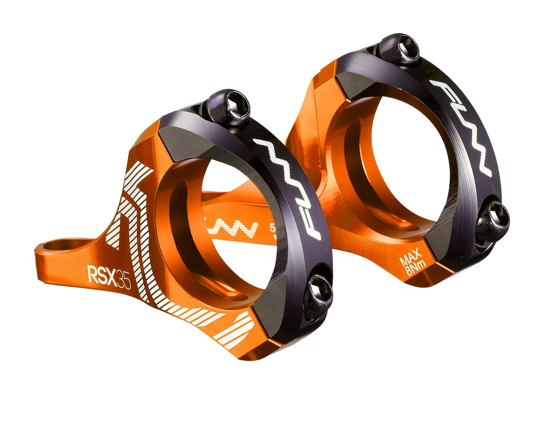 RSX Direct Mount Stem (35mm Bar Clamp, 20mm Rise, Orange) by Funn