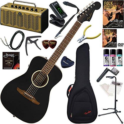 [定休日以外毎日出荷中] FENDER アコースティックギター 初心者 入門 Malibu ストラトヘッド、ショートスケールのエレアコ オール単板仕様 レトロなデザインで多機能高音質のYAMAHA FENDER 初心者 THR5Aが入ってる大人の19点セット Malibu Special B07BNYX92F, 紀勢町:d7a1b032 --- newfinres.com