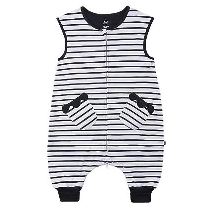 Gleecare Saco de Dormir para bebé,Pijama de Pierna sin Mangas para bebés, para