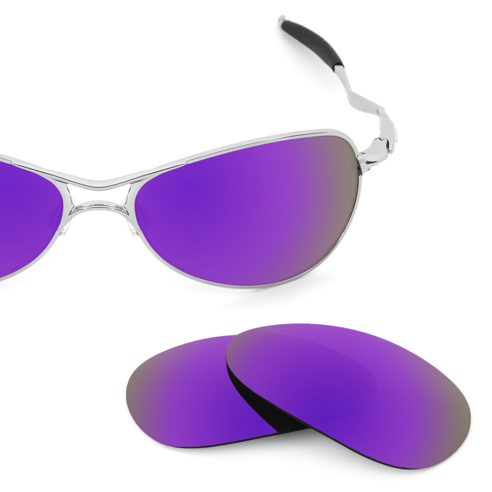 d3472a4629 Revant Polarized Replacement Lenses for Oakley Crosshair S Plasma Purple  MirrorShield
