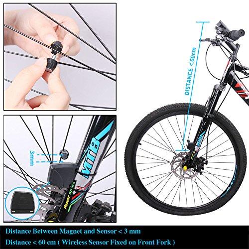 Hot Wheel Spoke Computer Magnet Speed Sensor Assembly For Garmin Planet Bicycle