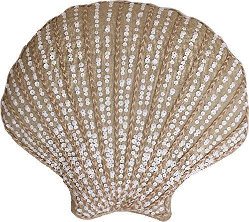 Thro Carlotta Shell Shaped Decorative Pillow One Size