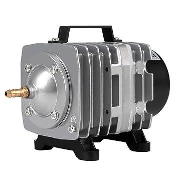 Compresor De Aire De Alto Rendimiento para Acuario De Estanque (Potencia 18W38 L/Min) con Cable De Alimentación De 140 Cm,75L/Min: Amazon.es: Hogar