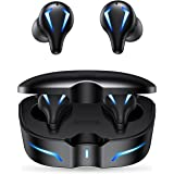 Piqeir Wireless Earbuds Bluetooth Headphones Gaming/Music Mode Earphones in-Ear Headset/USB C Charging/Game/Gamer/Noise Cance