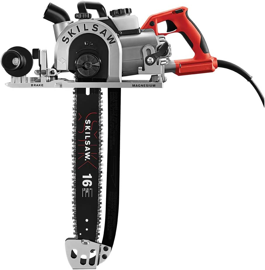SKILSAW SPT55-11 16 In. Worm Drive SAWSQUATCH Carpentry Chain Beam Saw