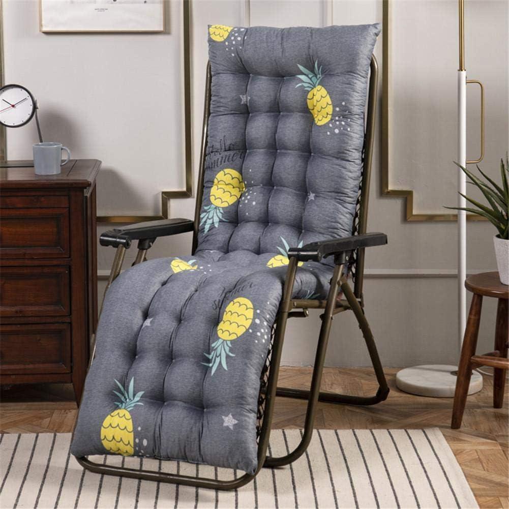 Coussin Chaise Longue Bain De Soleil,Coussin Transat Jardin Exterieur avec Capuche Antid/érapante pour Jardin Patio Vacances Relaxer