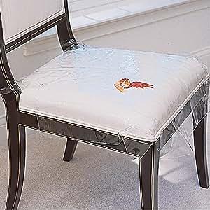 Amazon Com Plastic Seat Cover Set Of 4 Home Amp Kitchen