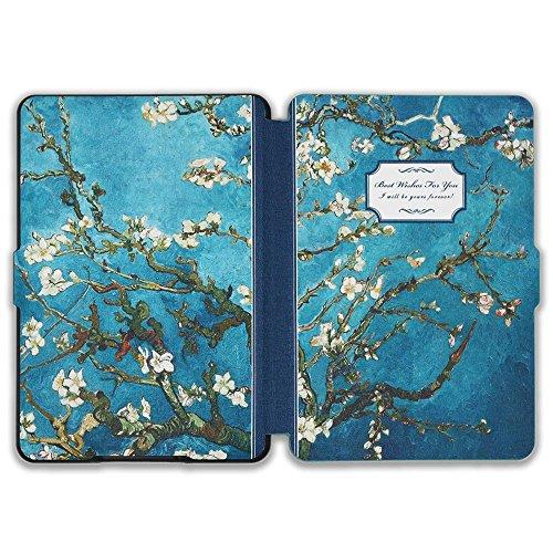 Kindle Paperwhite Book Cover Art : Kandouren kindle paperwhite case van gogh apricot