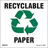 Brady 20636FLS Recycling and Conservation