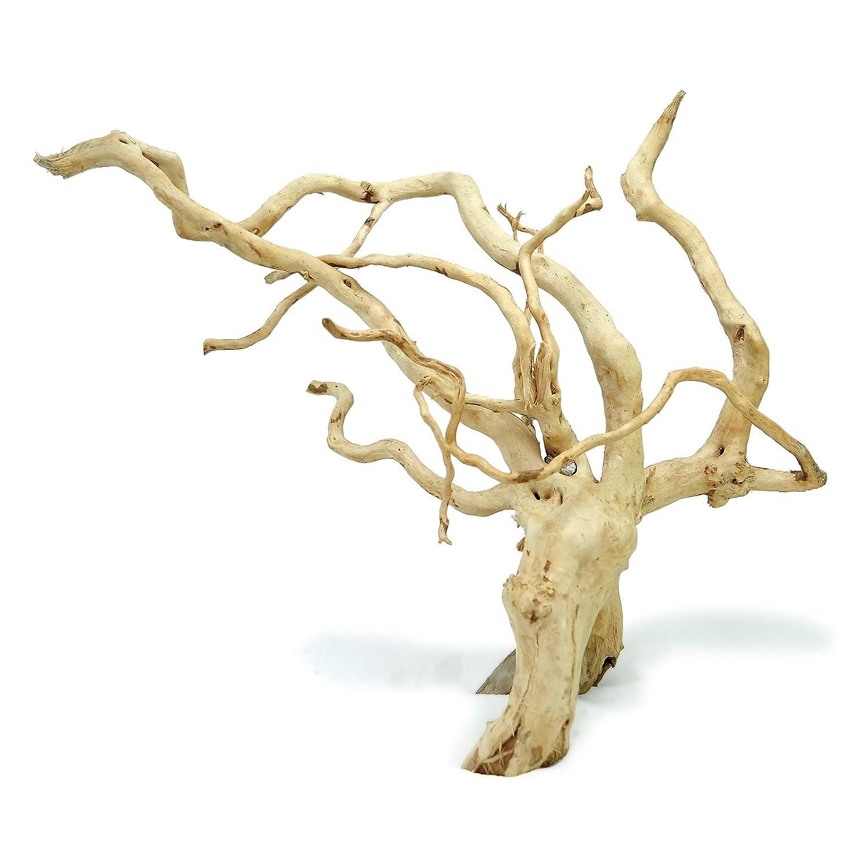 Sagar Aquarium Aquarium Hardscape Materials Aquascaping Nature Driftwood With Tree Roots 40 60 Cm Random Shape 1 To 1 5 Kg Amazon In Pet Supplies