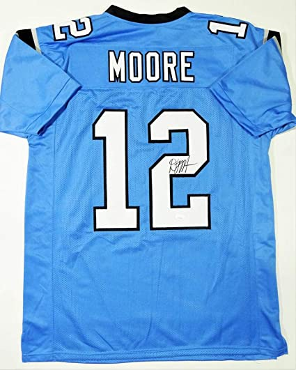 DJ Moore Autographed Blue Pro Style Jersey - JSA W Auth 2 at ...