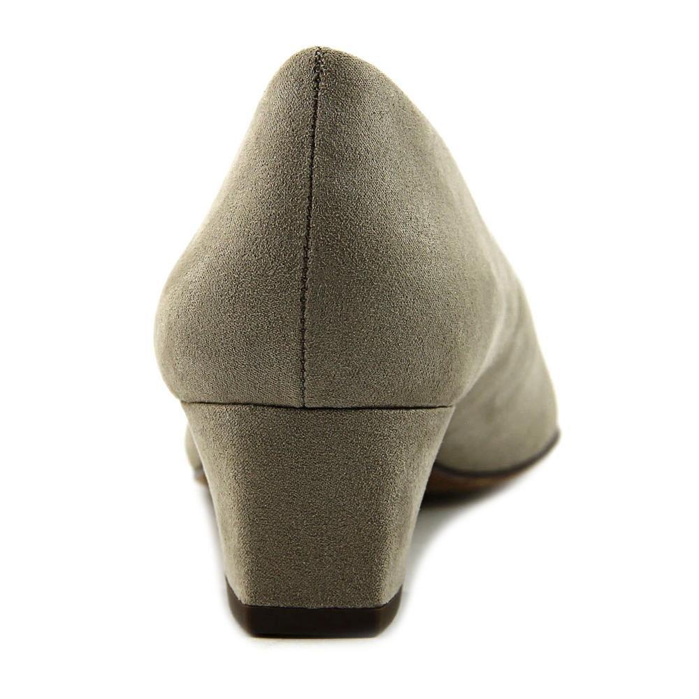 Easy Street Women's Prim Dress Pump B01J1YX4MQ 6 B(M) US|Stone Super Suede