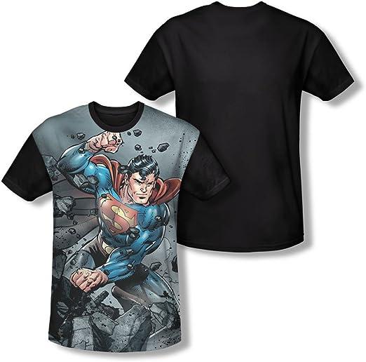 Superman - - Hombre Vs Doomsday camiseta: Amazon.es: Ropa y accesorios