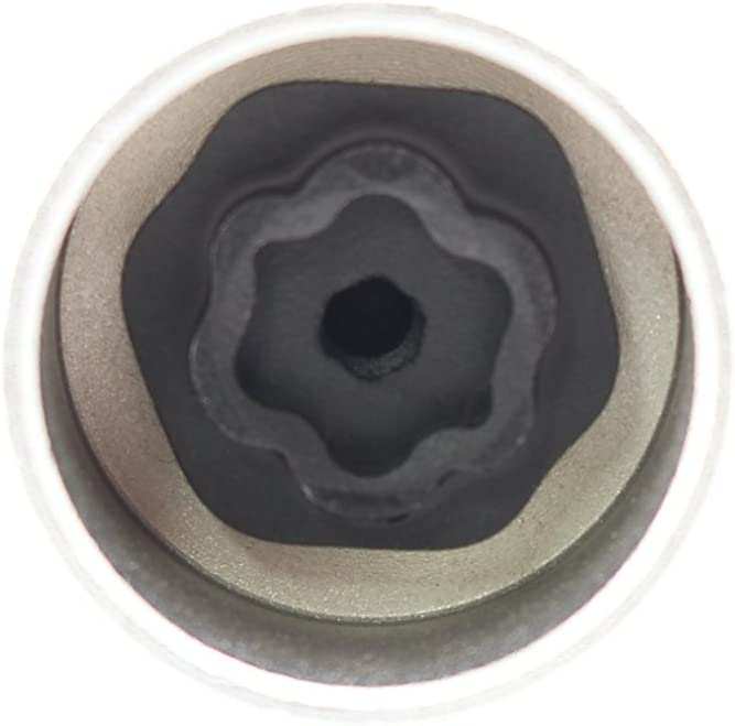 TEMO #41 Wheel Lock Lugnut Anti-Theft Lug Nut Screw Removal Socket Key S3055 for BMW Vehicles