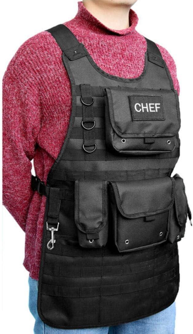 HALAWAKA Tactical BBQ Sch/ürze Outdoor Durable Camping BBQ Chef Sch/ürze f/ür Barbecue Cooking Grill Master Grillen
