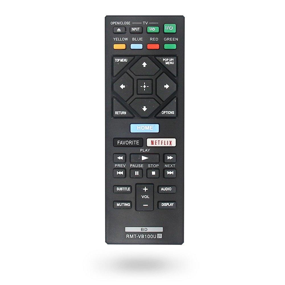 NEW RMT-VB100U Replaced BLU-RAY PLAYER Remote fit for SONY Player BDP-BX150 BDP-BX350 BDP-BX550 BDP-BX650 BDP-S1500 BDP-S2500 BDP-S2900 BDP-S3500 BDP-S4500 BDP-S5500 BDP-S6500 BDP-S3700 Bdp-bx370