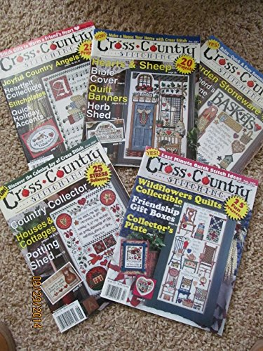 Cross Country Stitching 2001 (Set of 5) Volumes 12 (#6) Vol 13 - (#2 Thru #5) ()