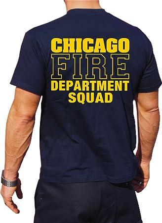 T Shirt Chicago Fire Dept Squad Company Feuerwehr Von Chicago