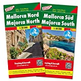 Mallorca North and South with Cycling Paths 2019: FB.S078 (English, Spanish and German Edition)