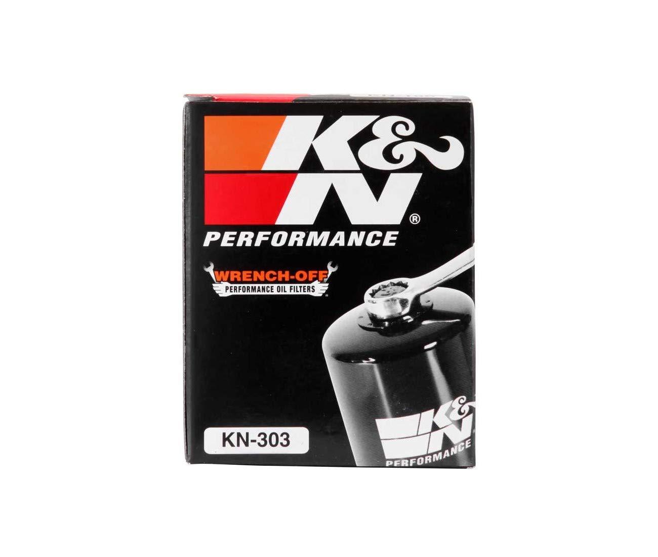 KAWASAKI Z750-Z800-Z1000 KN303 SX-1400 GTR-1400 ZZR-FILTRE A HUILE KN