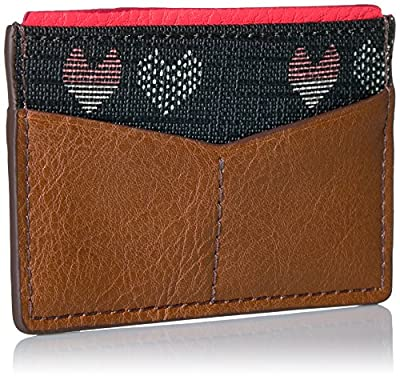 Fossil Card Case-hearts Credit Card Holder