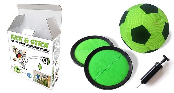 My Mini Golf Kick and Stick Indoor-Fußball-Torwand für Kinder, klein ...
