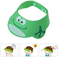 Gorro Ducha para Bebé Sombrero Ajustable del Baño