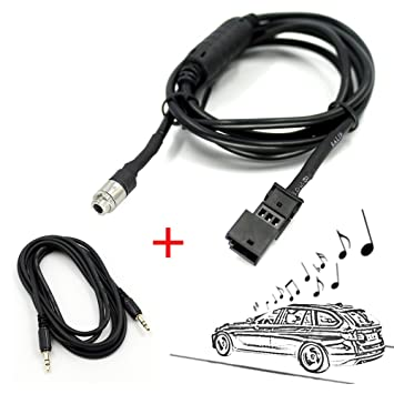 Valuetom Car 35mm Aux Audio Cable Adapter For Bmw Bm54 E39 E46 E53