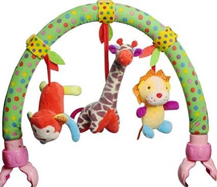 Children Baby Music Bell Soft Sense Educational Hand Plush Fun Toys S3