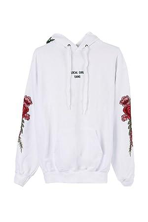 c3cb6da0d641 Ziloo reg  The Supreme Hoodie Jumper Sweater Women s Long Sleeve Shirt  Girls Sweatshirt