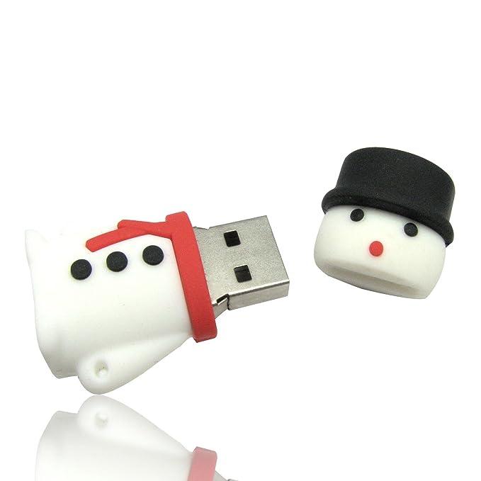 Tienda 818 no1920006 USB Stick Navidad muñeco de nieve 3d color ...