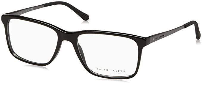 Amazon.com: Ralph Lauren RL6133 Eyeglass Frames 5001-54 - Black ...