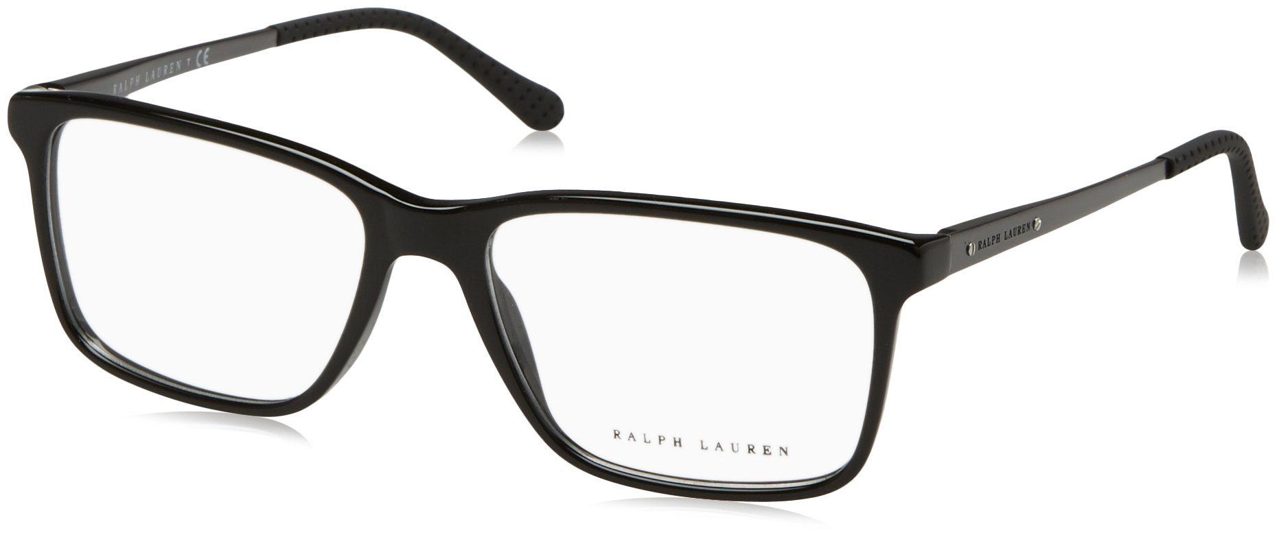 Ralph Lauren RL6133 Eyeglass Frames 5001-56 - Black RL6133-5001-56 by RALPH LAUREN