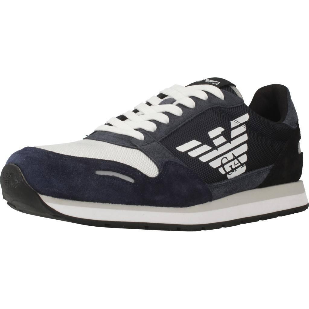 Acquista Emporio Armani X4X215 Sneakers Basse Uomo Blu 43 miglior prezzo offerta