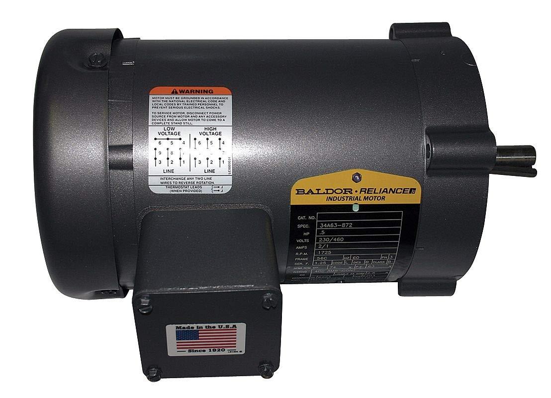 Baldor Motor Wiring High Voltage