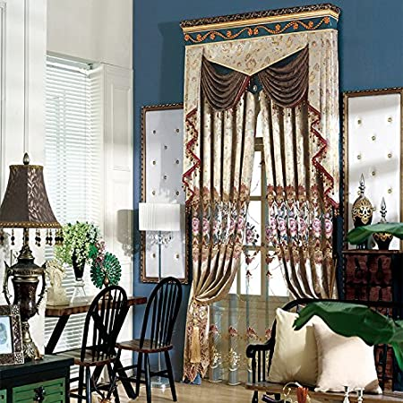 European Classical Bedroom Living Room, Blackout Drapes/Curtains ...