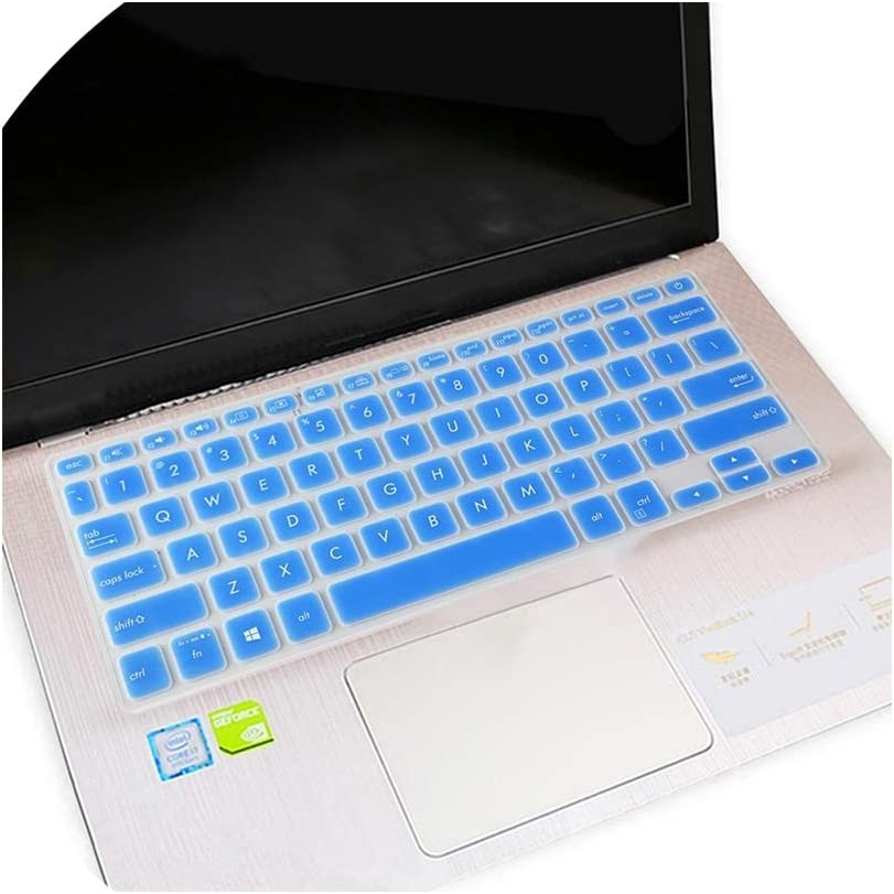 Clear Compatible for Asus ZenBook Flip 14 UX461UN UX461UA UX461 UX461U 14 Inch Laptop Notebook Keyboard Cover Protector