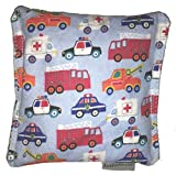 Emergency Trucks 2 Boo-Boo Bags Rice Hot/Cold Packs Reusable Ouchee Heat Packs Hot Cold Pack Microwave Heating Pad Reusable Ice Pack , Hot Therapy, Cold Therapy, Rice Pack, Booboo Pillow