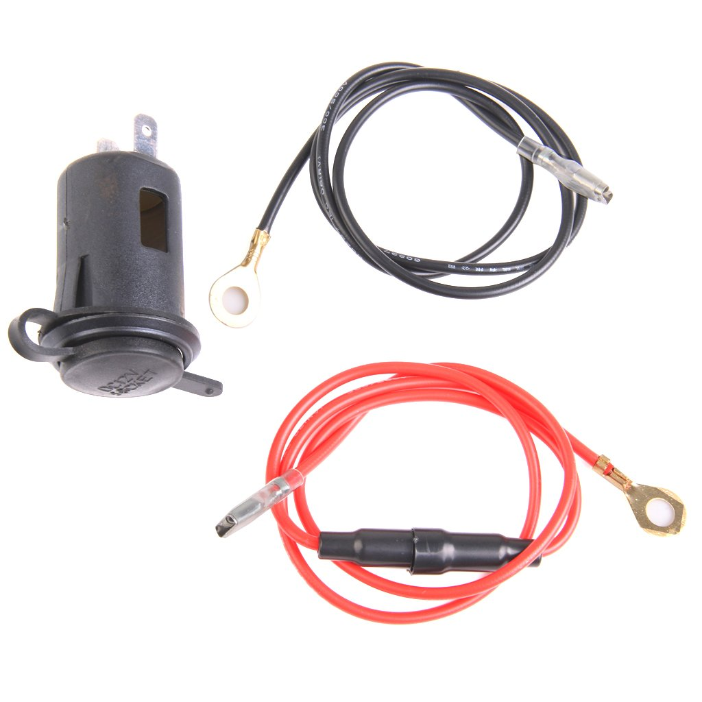 Generic 12v Waterproof Car Motorcycle Cigarette Lighter Power Socket 2016 New 120w Plug Outlet Motorbike